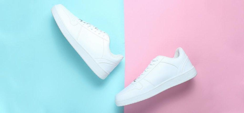 fehér lábbeli